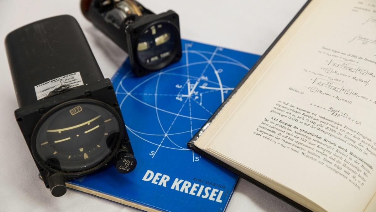 Scientific heritage from Kurt Magnus  (c) Christoph Hoeger