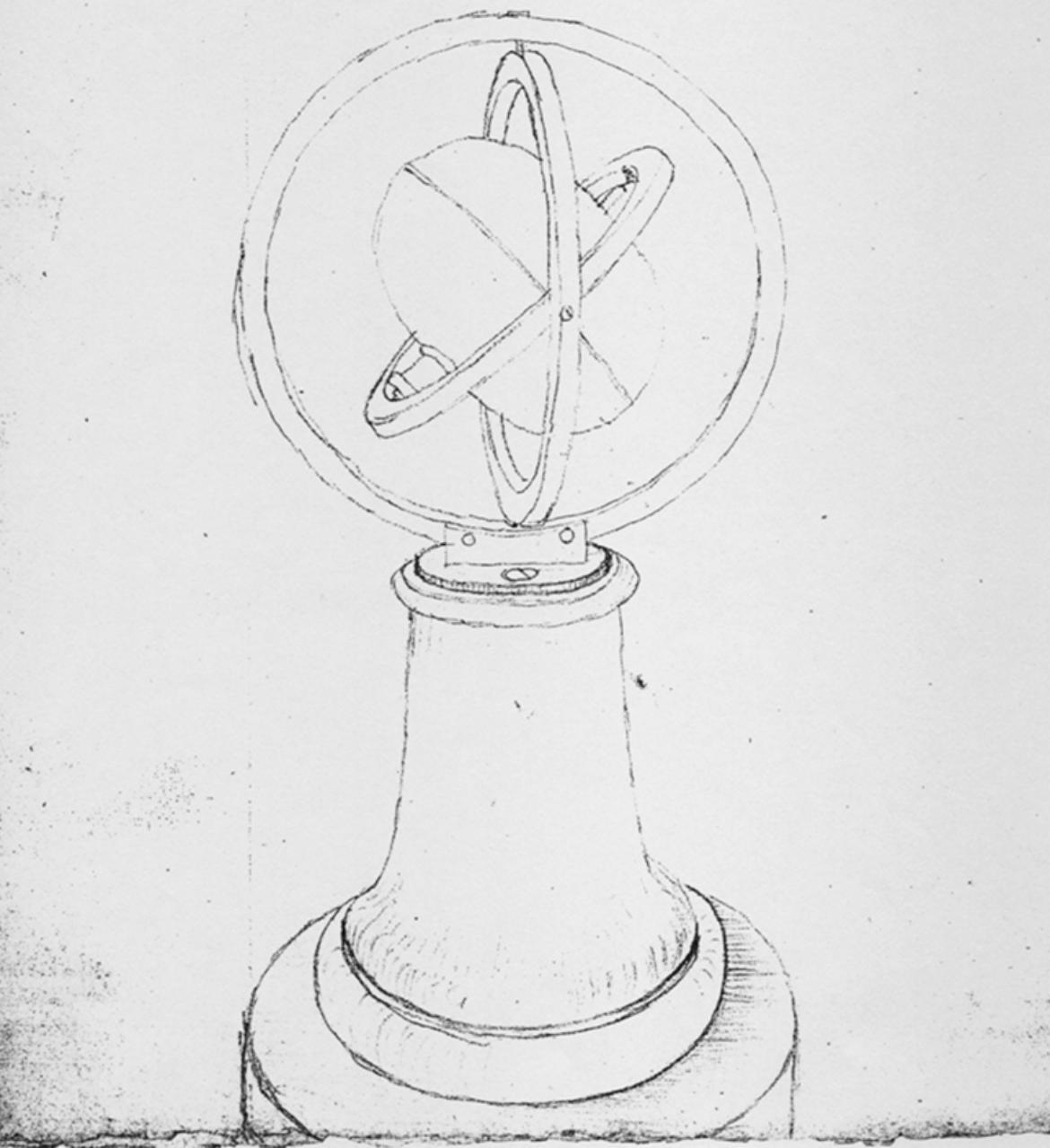 Machine of Bohnenberger (c) Württ. Landesbibl., Sig. Cod. Math. 4° 64a