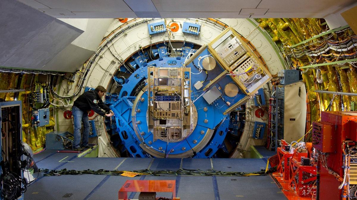 SOFIA telescope  (c) Deutsches SOFIA Institut