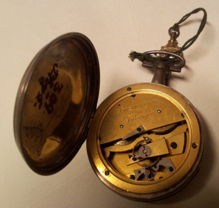 Stopwatch from the workshop of G. Buzengeiger (c) Bayerisches Nationalmuseum