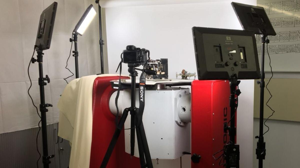 Photogrammetric setup  (c) Kun Zhan